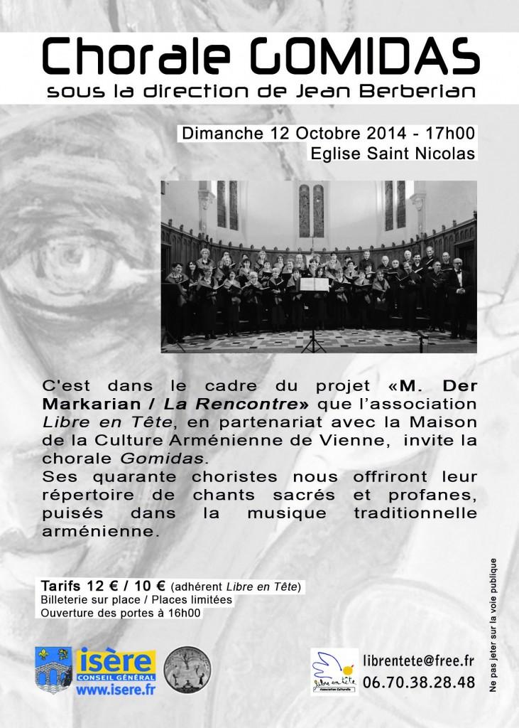 8 - concert chorale V - dimanche 12 octobre 2014